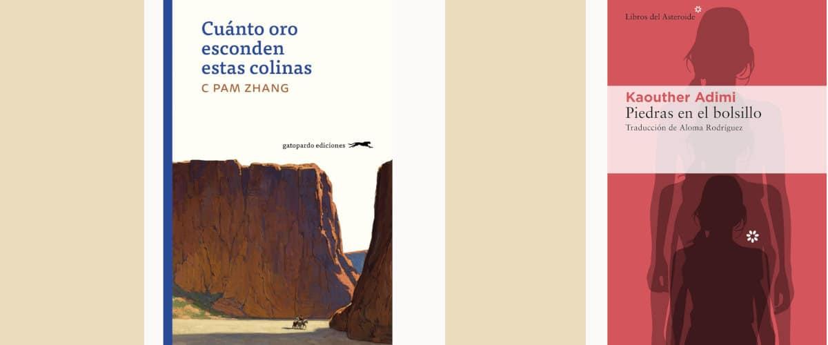 Cuánto oro esconden estas colinas y Piedras en el bolsillo, dos novelas que hablan sobre el desarraigo