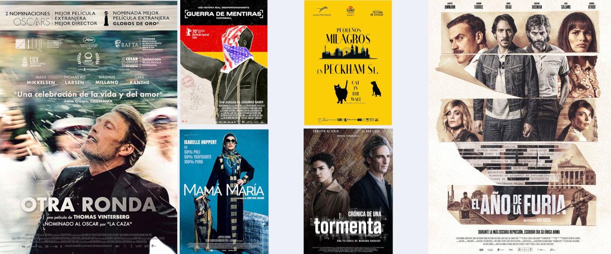 Películas de estreno en abril