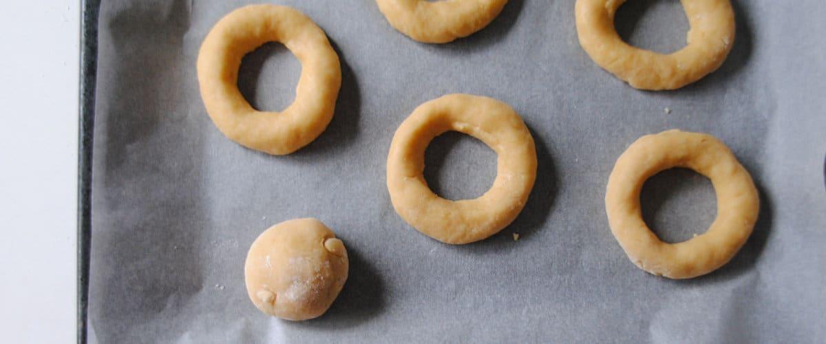 Da forma a las rosquillas