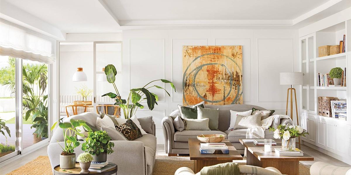 Decora tu salón con un buen sofá