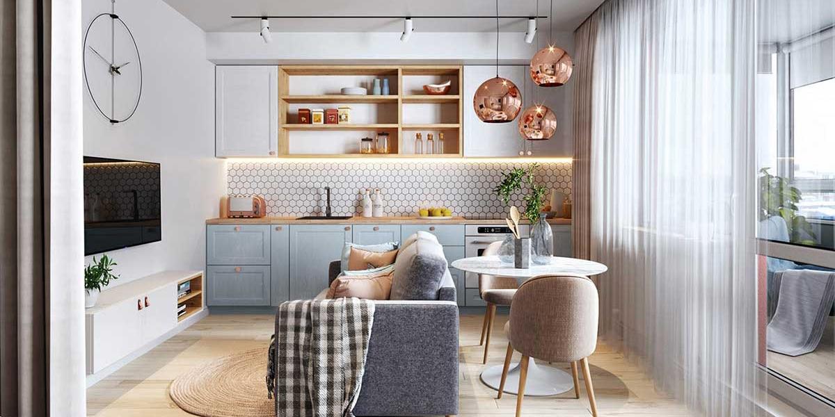 Toques de metal y madera para tu cocina