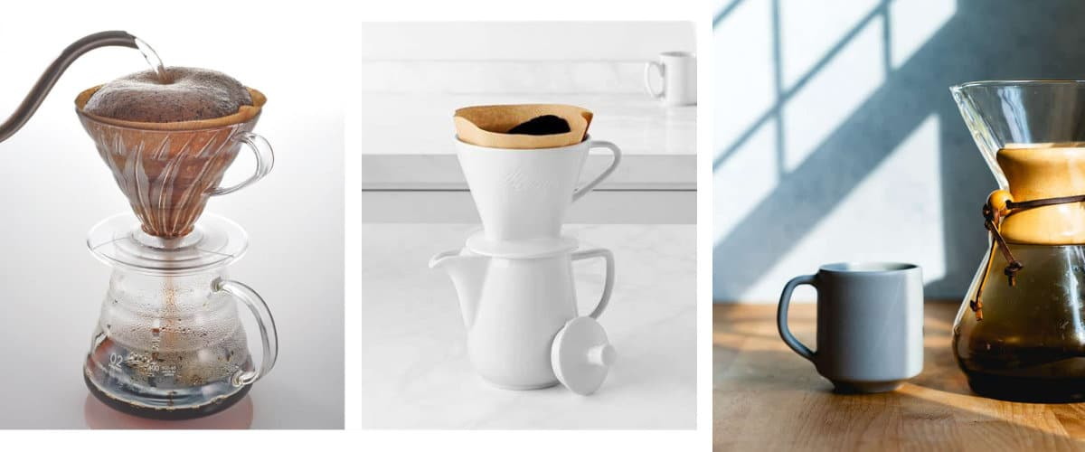 Cafeteras de goteo manuales