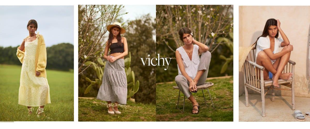 Cuadros Vichy, protagonistas de la nueva campaña ss21 de eseOese