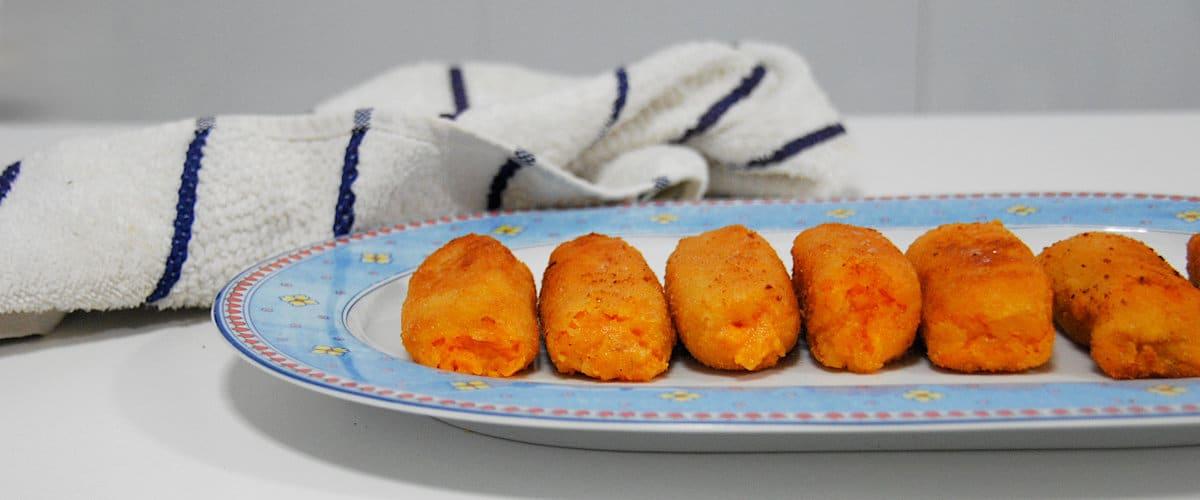 Croquetas de boniato y queso