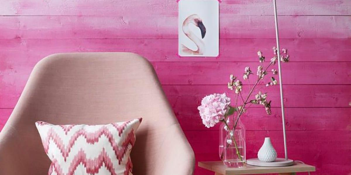 Decorar la pared con pintura