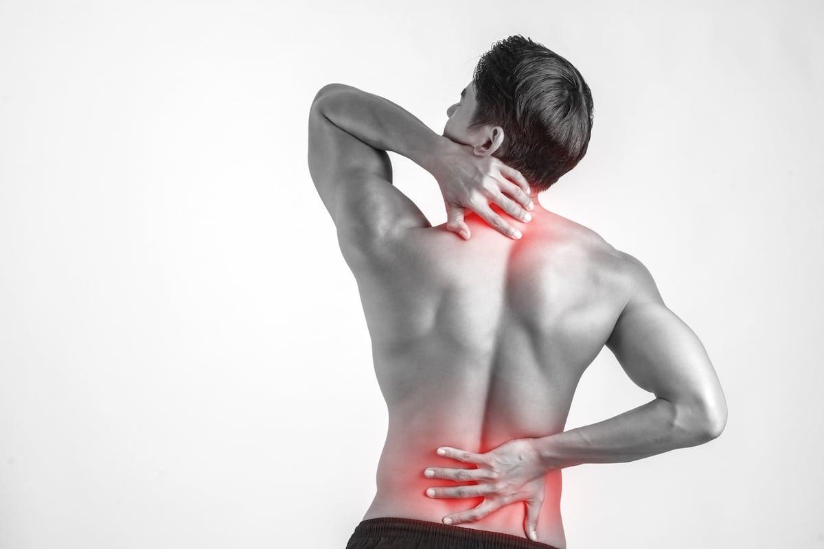 El desgarro muscular se puede tratar.