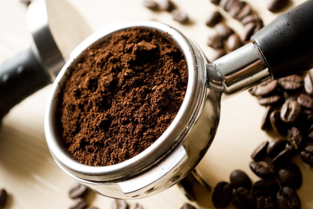 Exfoliación con café molido