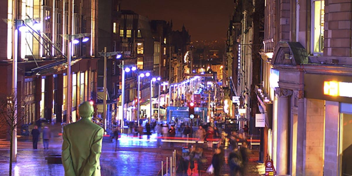 Buchanan Street en Glasgow