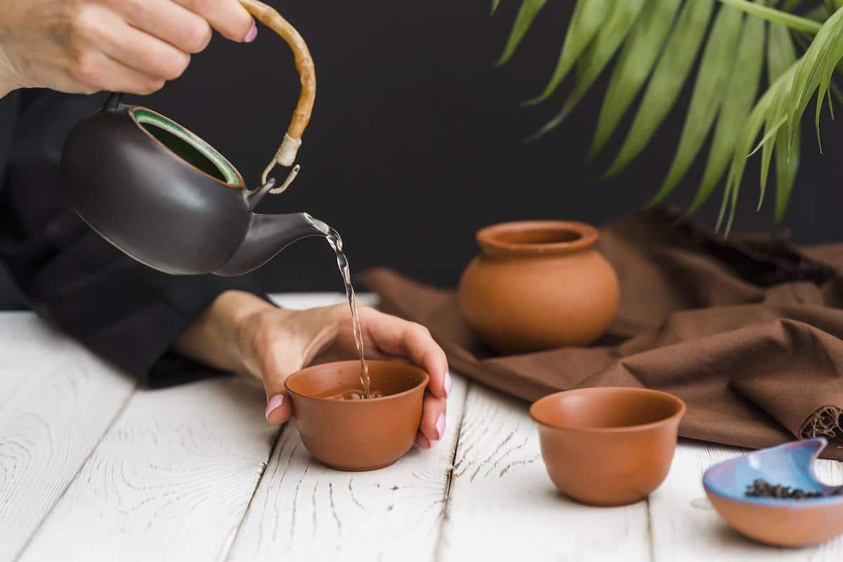 Las infusiones de té son saludables.