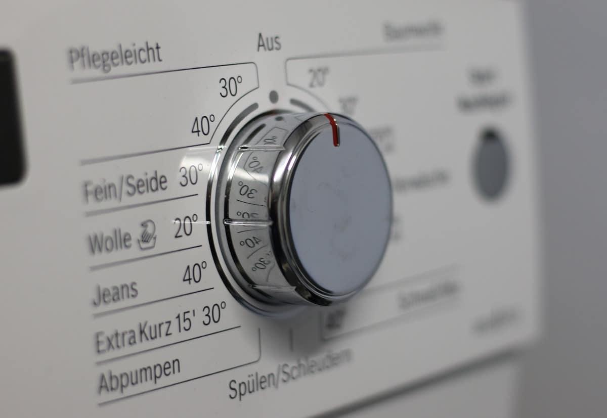 Distintos ciclos de lavado.