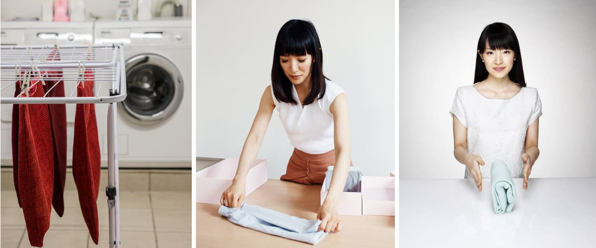Lavar y doblar ropa