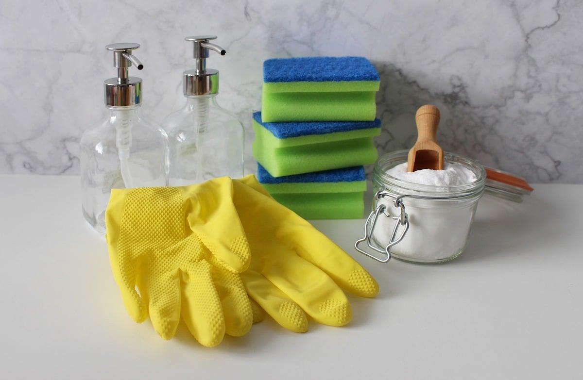La limpieza en el hogar.