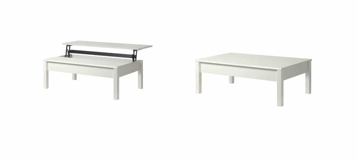 Mesas de centro elevables de Ikea