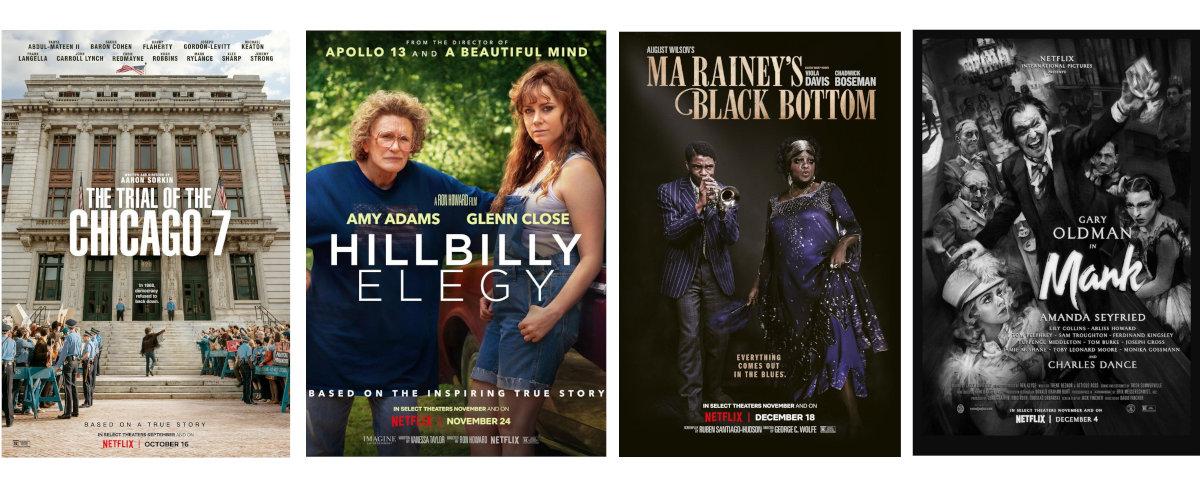 Películas nominadas a los Oscar en Netflix