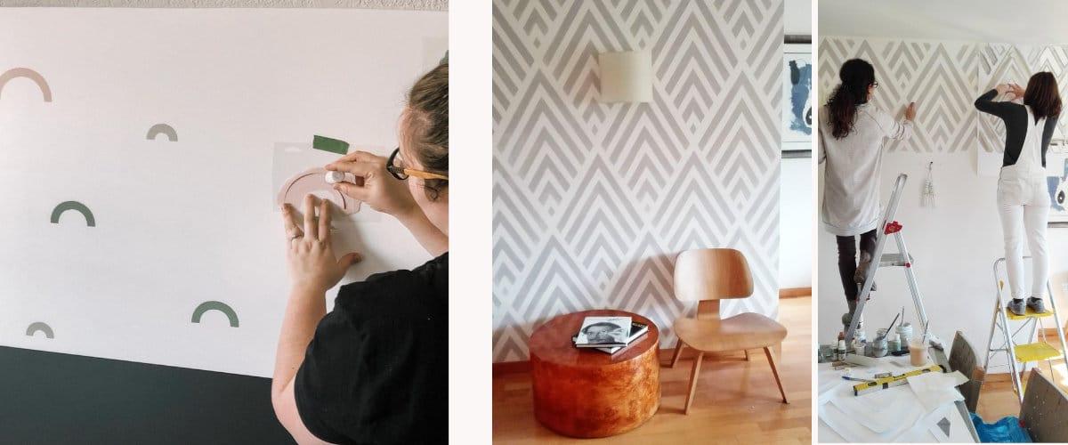 Plantillas para pintar paredes