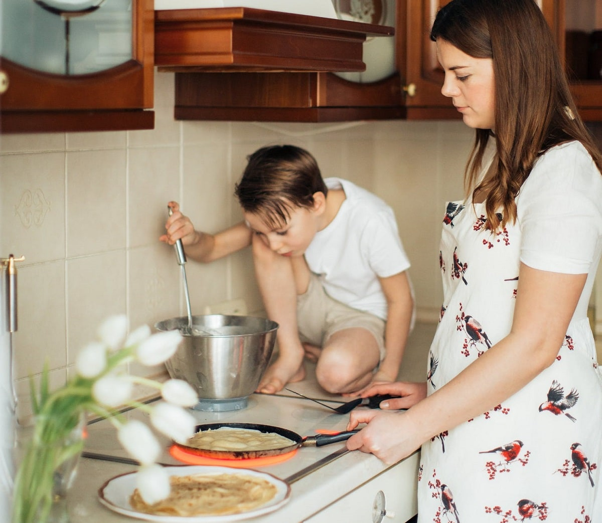 Haz recetas con tus hijos