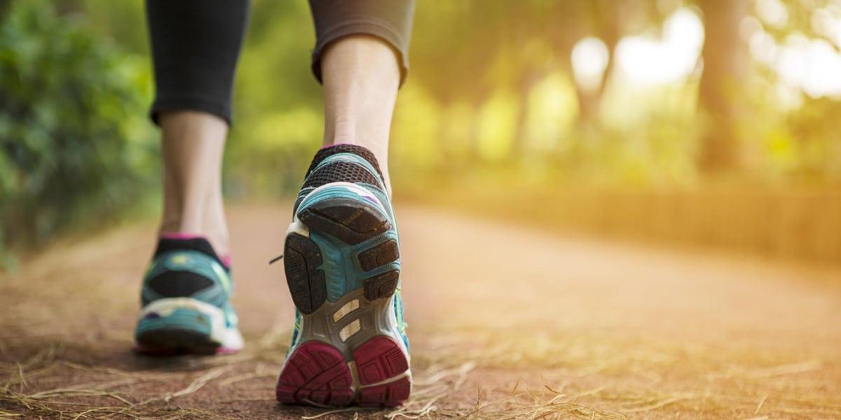 Caminar es sano