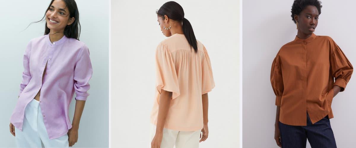 camisas de cuello mao