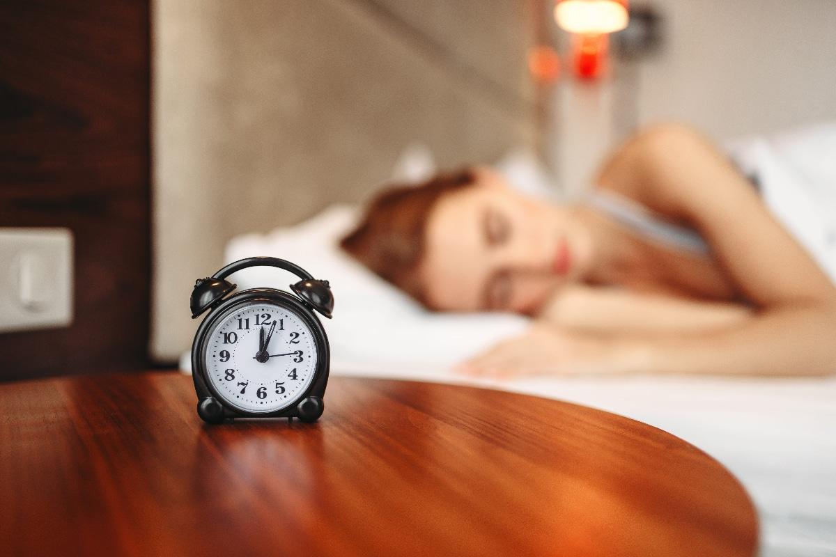 Establecer horarios de sueño