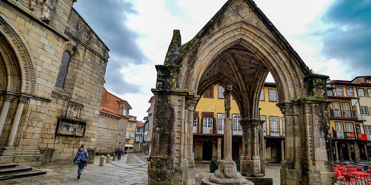 Guimaraes en el norte de Portugal