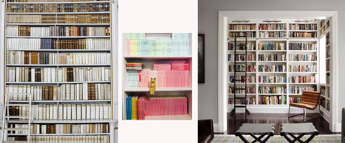 Diferentes formas de organizar tu colección de libros