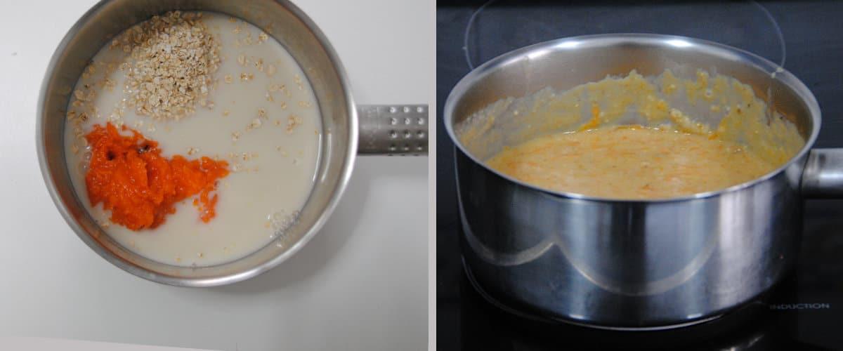 Porridge de calabaza y canela