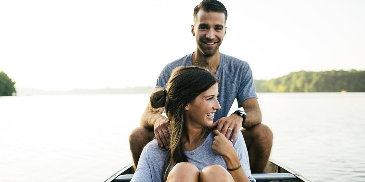 Disfrutar las vacaciones en pareja