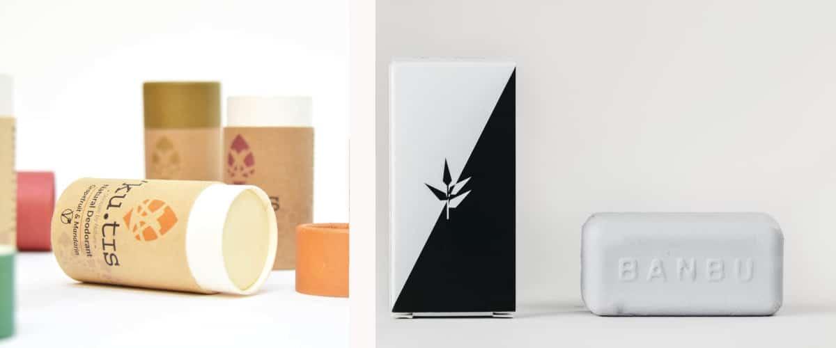 Artículos de baño zero waste: Desodorantes sólidos
