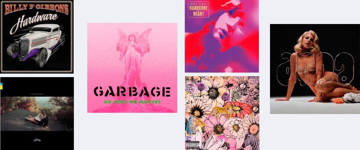 Discos que se publican en junio