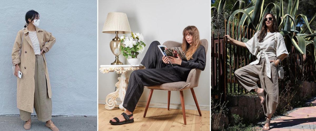 Estilismos veraniegos con pantalones de lino
