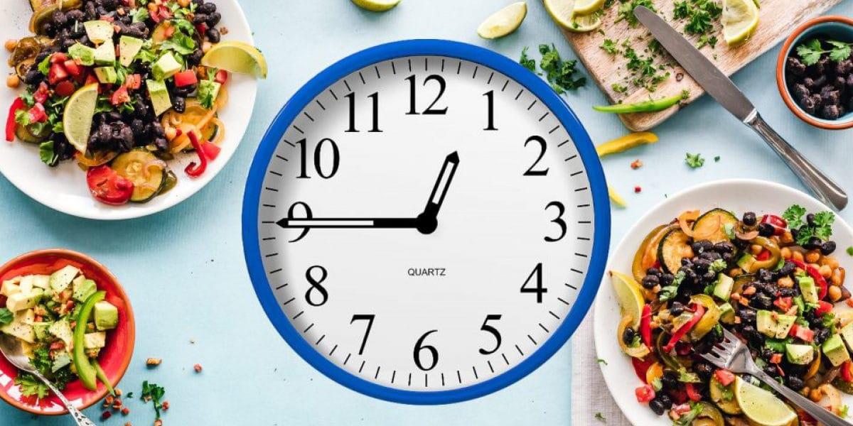 Horarios regulares en las comidas