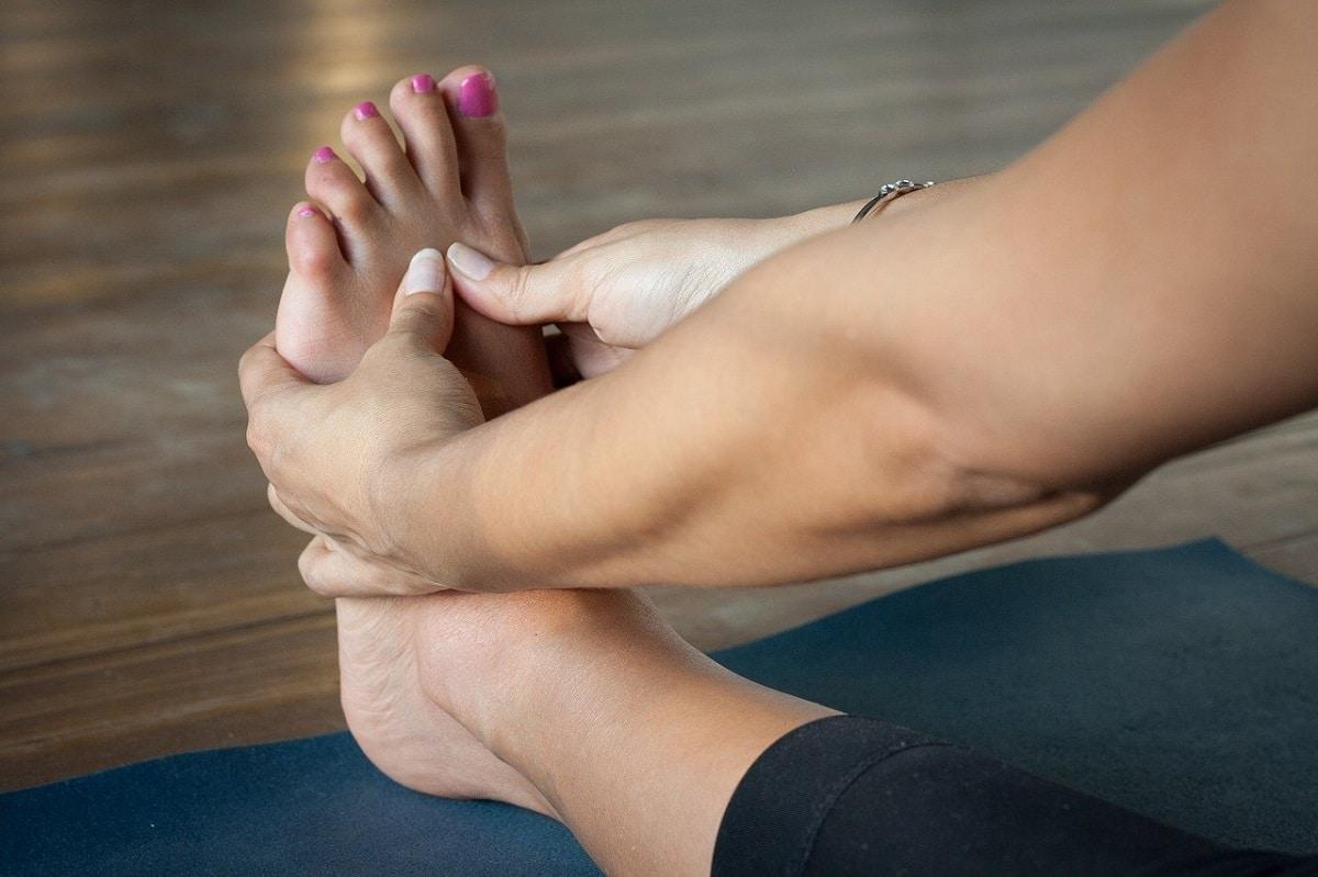 Evitar sudoración en los pies
