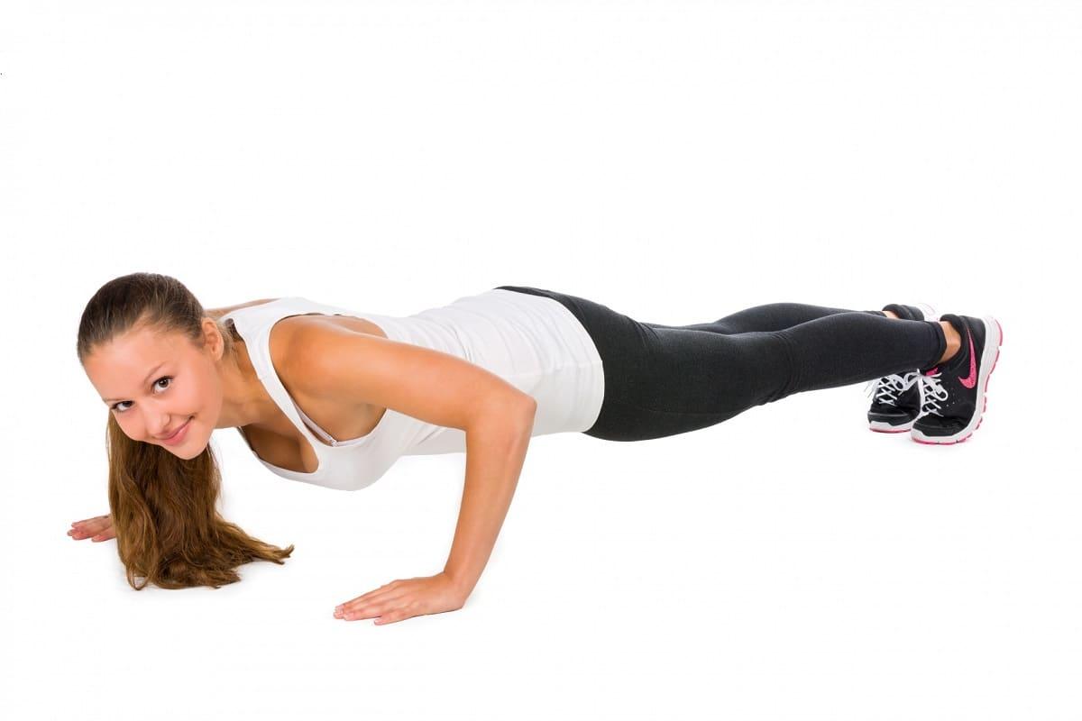 Flexiones para estar en forma