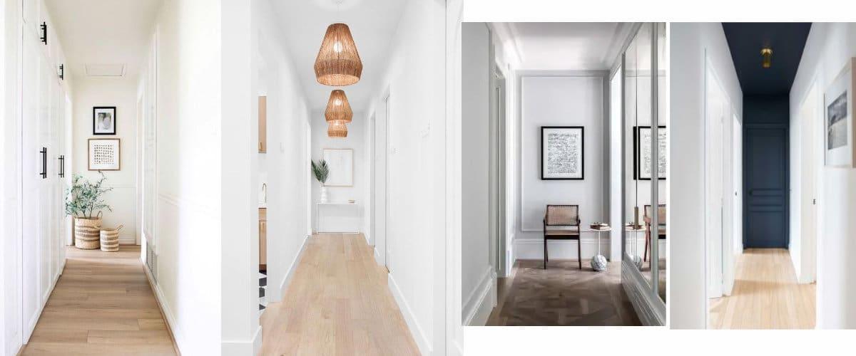 Ideas para decorar el fondo de un pasillo