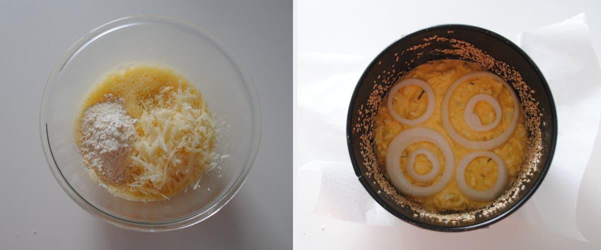 Pastel de coliflor