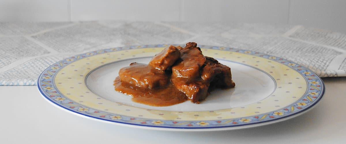 Solomillo de cerdo en salsa de Pedro Ximénez