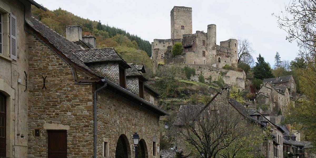 Belcastel en el sur de Francia