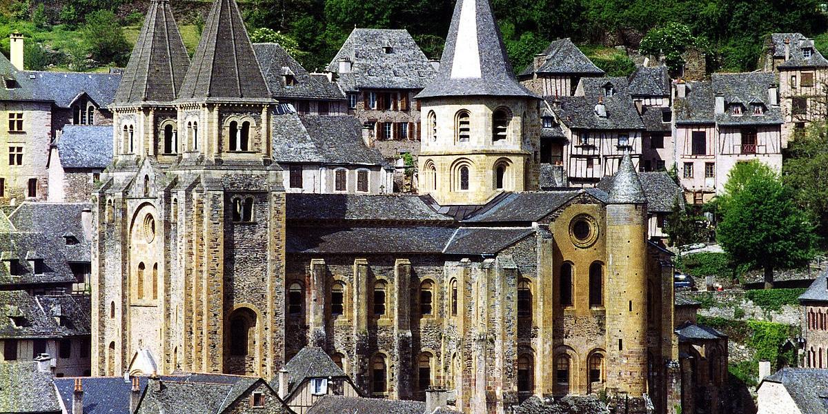 Conques en el sur de Francia