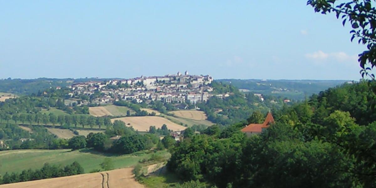 Lauzerte en el sur de Francia