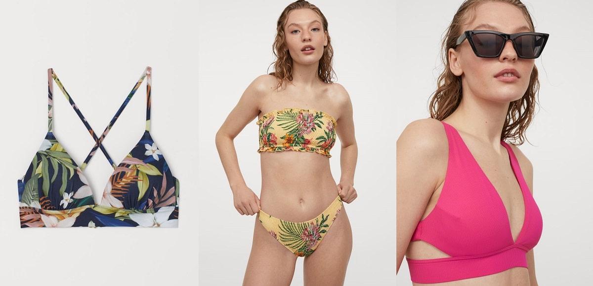 Bikinis de colores en H&M