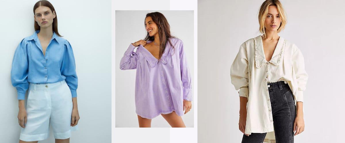 Camisas vaqueras de tendencia
