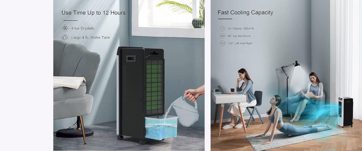 climatizador 3 en 1 de Izyair