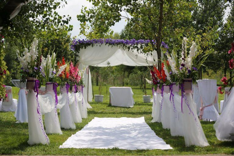 Decoración bodas casa