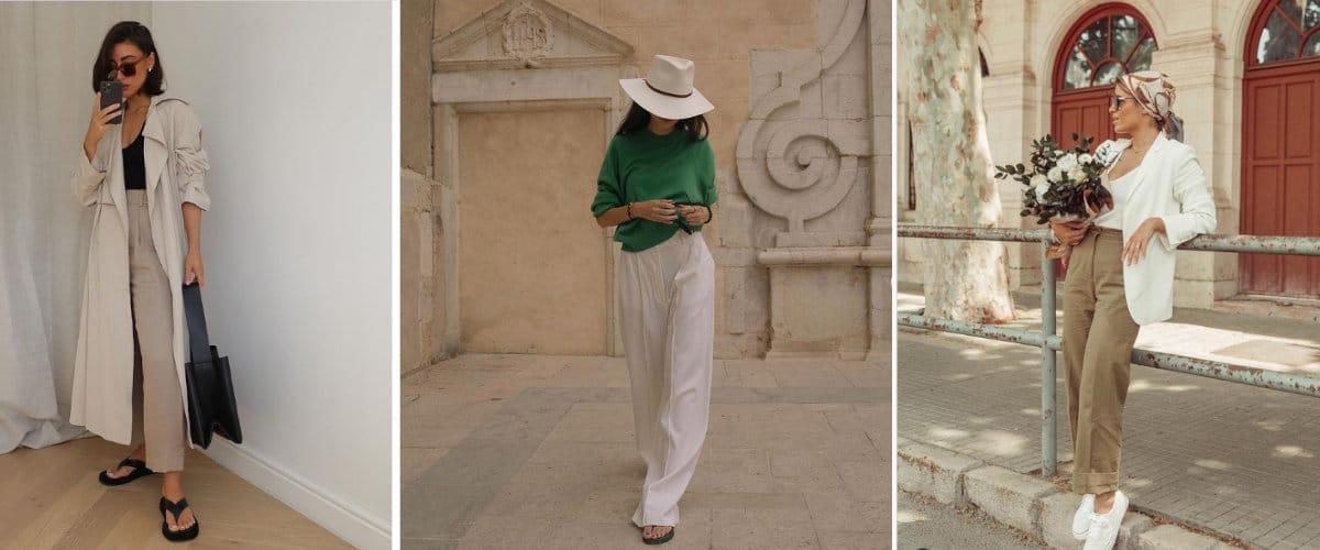Estilismos todoterreno de verano con pantalones largos