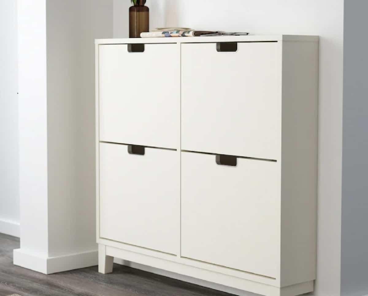 Mueble zapatero de Ikea