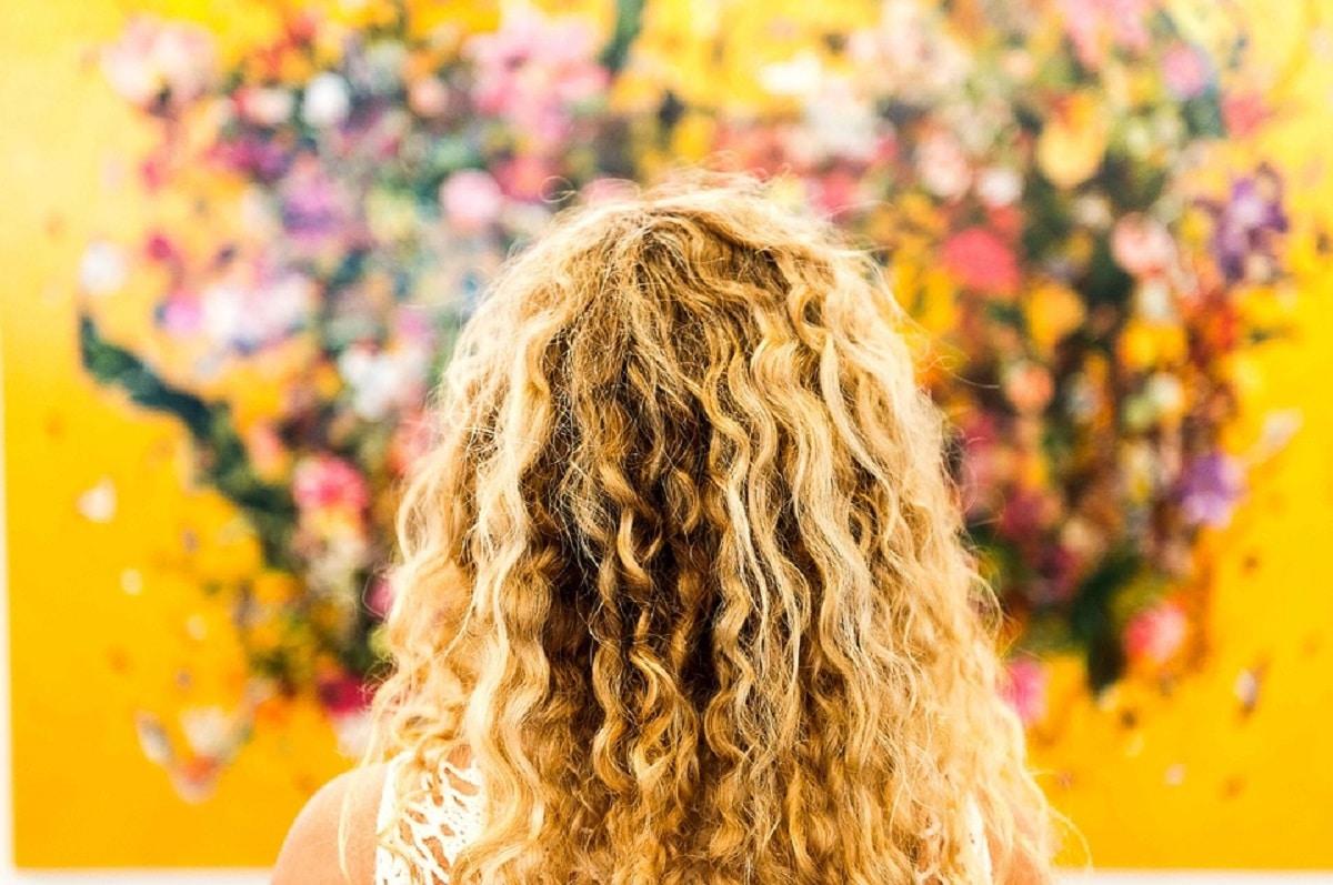 Método Curly Hair para pelo rizado