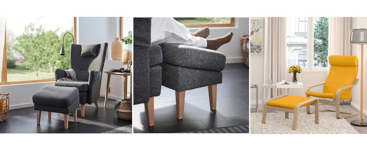 Diseños inclinados de Ikea