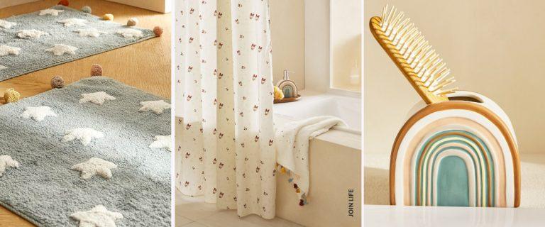Artículos de Zara Home para decorar un baño infantil