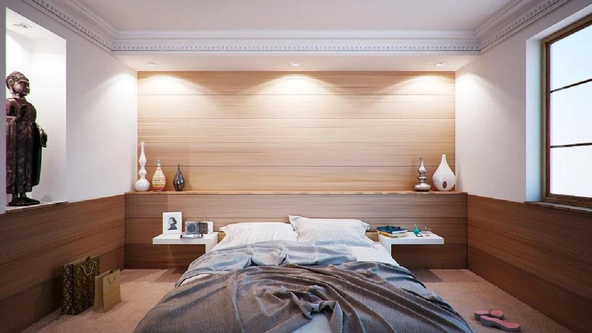 Hacer la cama para tener la casa recogida