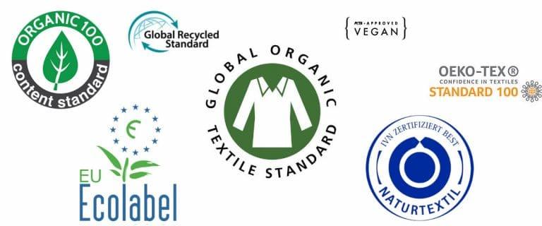 Certificaciones textiles sostenibles